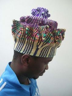 Вяжем крючком) - Африканские зимние шапки  Ксенобия Бэйли