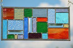 Gekleurd glas gekleurd glaspaneel Glasraam aangepaste