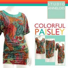 Colorfull paisley www.studioanneloes.nl