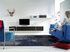 Face Hanging Console and Face TV Console by Thijs Smeets