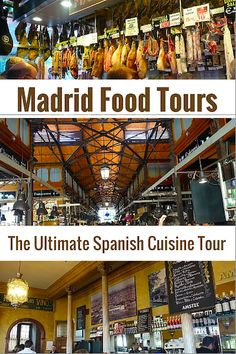 "Learn about real Spanish cuisine, its history, and taste some of the best food Madrid has to offer on a cultural walking tour with ""Madrid Food Tour""."