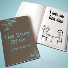 Adapt this: The story of my person or our life together. Use photo books with sentence starters.