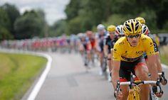 Tour de France Yellow jersey holder Fabian Cancellara