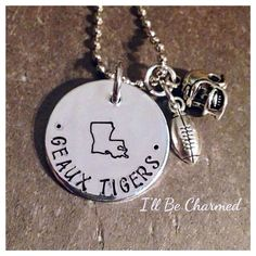 SALE State University Any State Stamped in Center by ILLBECHARMED, $20.00