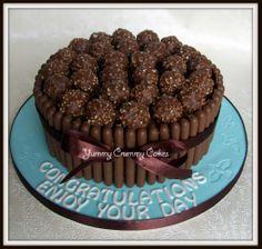 Fererro rocher cake