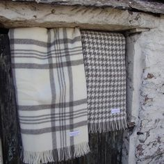 Naturally coloured, natural wool in very traditional, classic designs these pure new woollen blankets are irresistible.  Heritage in a luxury blanket.