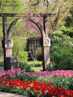 Botanica Gardens in Wichita Kans