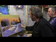 Художник Игорь Сахаров, научиться писать маслом, Уроки в Москве - YouTube