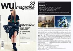 Rome's Portfolio Review in WU Magazine - amazing! Planned by D'Arc Studios