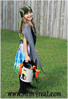 Make A Fortune Teller Halloween Costume - Mom 4 Real