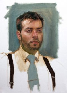 John louis smith art sky portrait artist of the year 2014