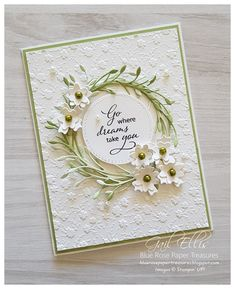 Hi again 😀 Today I would like to share with you a collection of cards using the Stampin' Up! Ornate Borders Dies and a few different e. Birthday Cards For Women, Happy Birthday Cards, Scrapbook Birthday Cards, Flower Birthday Cards, Wedding Cards Handmade, Greeting Cards Handmade, Beautiful Handmade Cards, Tarjetas Stampin Up, Embossed Cards