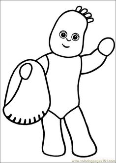 23 In the night garden printable coloring pages for kids. Find on coloring-book thousands of coloring pages. Garden Coloring Pages, Easter Coloring Pages, Online Coloring Pages, Colouring Pages, Printable Coloring Pages, Coloring Pages For Kids, Coloring Books, Felt Pictures, Colorful Pictures