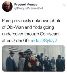 patrolling scout around base. she's just gunned down an intruder. it's h… - StarWars Memes 2019 Star Wars Jokes, Star Wars Facts, Prequel Memes, Movie Memes, Funny Movies, Star Wars Wallpaper, Ewan Mcgregor, Star War 3, The Force Is Strong