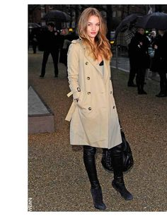 burberry trench....a classic