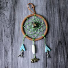 In The Wildwood - Dreamcatcher - in Diameter by WildwoodCeramics on Etsy Deep Purple, Dream Catcher, Glass Beads, Handmade Items, My Etsy Shop, Group, Crystals, Amazing, Board
