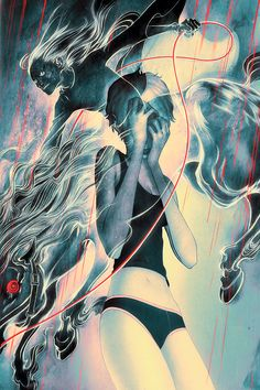 James Jean is a Taiwanese American visual artist, known for both his commercial work and fine art gallery work.