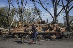 civilian bike usage in Ukraine
