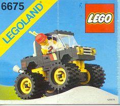 Road & Trail 4 x 4 - Legoland 6675
