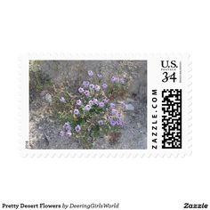 Pretty Desert Flowers Postage