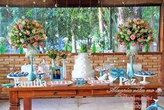 Decoração Rústica de Alegria Está No Ar Casamentos