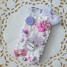 Coque iphone 5 decoden tons lilas par PrettyChantilly sur Etsy