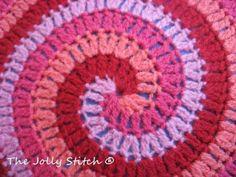 Free Crochet Pattern: Spiral Stitch