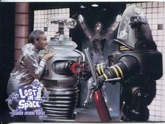 From the Irwin Allen, 1960's TV series, LOST IN SPACE.