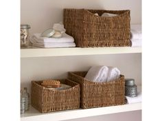 £17+  Woven Grass Basket With Dipped Front