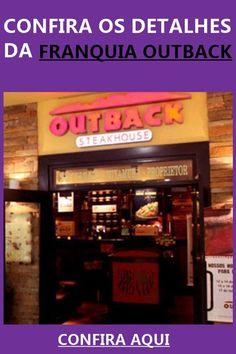 Quer montar uma franquia Outback? Entenda aqui como funciona e qual o valor para abrir a sua.  #franquia #outback #negocio #ideiasdenegocios #montarumnegocio Outback Steakhouse, Broadway Shows, Business Ideas, Good Ideas, Finance Organization, Flipping, Entrepreneurship, It Works
