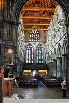 Interior, Paisley Abbey, Renfrewshire, Scotland.My childhood church, my mother was the secretary here