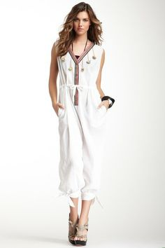 Mara Hoffman Embroidered Jumpsuit on HauteLook