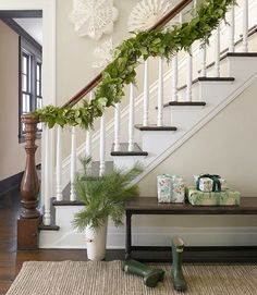 Here are 15 of our favorite ways to decorate the house with paper snowflakes for a perfectly white winter wonderland.