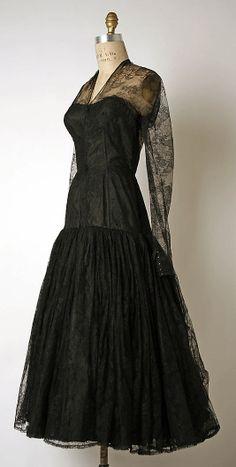 Cocktail Dress  Madame Grès (Alix Barton) (French, Paris 1903–1993 Var region)  Date: 1953