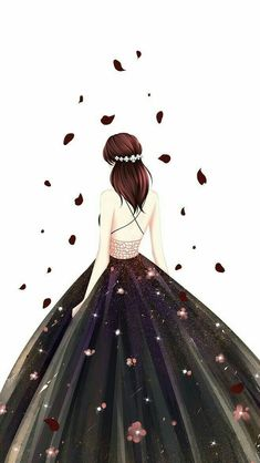 nền Girly Drawings, Princess Drawings, Image Pinterest, Chibi Manga, Arte Fashion, Lovely Girl Image, Cute Girl Drawing, Cute Girl Wallpaper, Beautiful Anime Girl