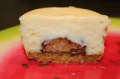 paula deen's peanut butter cheesecake minis