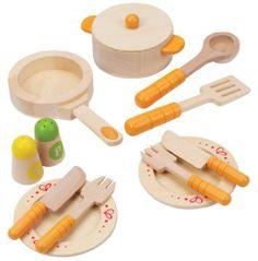 Hape - Playfully Delicious - Gourmet Kitchen Starter Set - Play Set