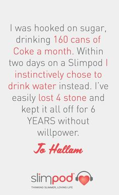 Learn more about Jo Hallam's weight loss and sugar quitting journey with Slimpod.   #motivation #inspiration #weightloss #diet #loseweight #weightlossjourney #slimpod #beforeandafter #sugarfree #quitsugar #progress #successstory | www.thinkingslimmer.com   http://www.www.www.thinkingslimmer.comsuccess-stories/