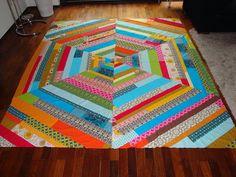 giant spiderweb quilt
