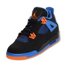 Jordan Retro 4 Kids' Basketball Shoes ($110) found on Polyvore