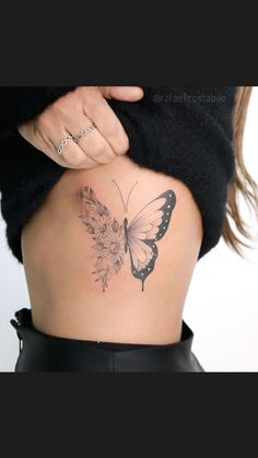 Delicate Tattoos For Women, Rose Tattoos For Women, Chest Tattoos For Women, Chest Piece Tattoos, Unique Tattoos, Ring Tattoo Designs, Feather Tattoo Design, Mini Tattoos, Body Art Tattoos