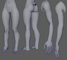 topology day 20 - Legs and Arms
