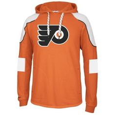 859a02d40 Flyers Reebok Faceoff Edge Team Jersey Pullover Hoodie (Size L) Nhl Apparel