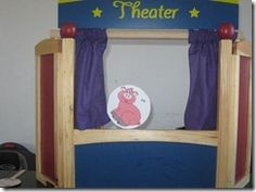Once Upon a Book ~ Big Red Barn Puppet Show