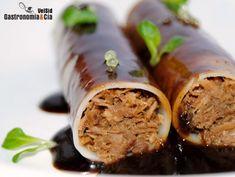 Canelones de carne con salsa maestra | Gastronomía & Cía