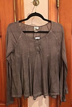 Others Follow Taupe Cozy Blouse  - XS to Lg ~ Tuesday Specials ~ * Clothing: Buy 1, Save 15%, Buy 2 Save 20% off  (excluding name brands & sales items)  * Sandals 50% off * Southern T's $10 * All Sales Racks Flat $15