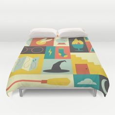 King's Cross - Harry Potter Duvet Cover by Ariel Wilson - $99.00