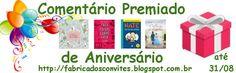 Está no ar a #promoção #comentáriopremiado de aniversário. Serão 4 livros para 2…