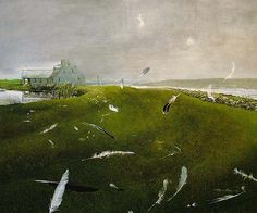 Airborne – 36 x 29 limited ed | Wyeth, Andrew