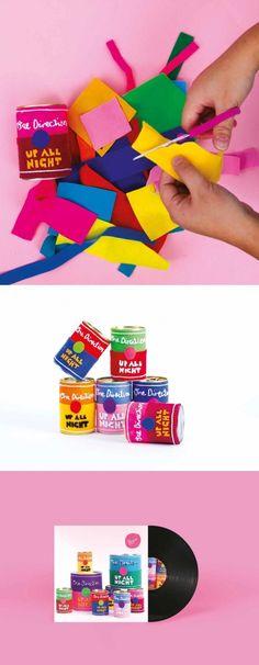 Handmade Campaign Design by Belinda Coxon, Shillington Graduate. View more student work --> https://www.shillingtoneducation.com #shillington #shillingtoneducation #graphicdesign #design #handmade #felt #onedirection #shillingtongraduate #MadeAtShillington @shillington